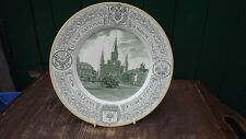 1938 Papal National Eucharistic Congress Plate New Orleans