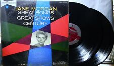 JANE MORGAN GREAT SONGS FROM THE GREAT SHOWS OF THE CENTURY LP RECORD ALBUM