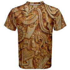 Mayans Mayan Warrior Art Carving All Over Print Men's T-Shirt Tees MW1