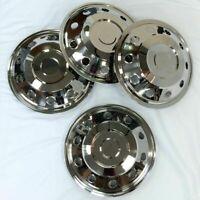 "Horsebox 16"" inch wheel trims stainless steel"