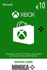 10 EUR Carta regalo Xbox - €10 Euro MS prepagato Codice Xbox One 360 - IT/EU