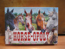 HORSEOPOLY * Horse Themed Monopoly Style Family Porperty Board Game
