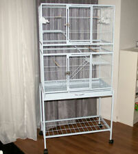 MyPets® Vogelvoliere MAX COMFORT XL Papageienkäfig Voliere Käfig Vogelkäfig