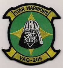 USN VAQ-209 STAR WARRIORS patch ELECTRONIC ATTACK SQN