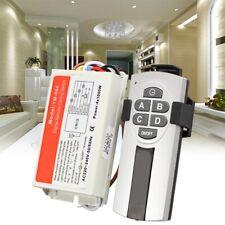 Yam Digital Wireless Wall Switch Splitter Box + Remote Control 4 Port Way Li W2E