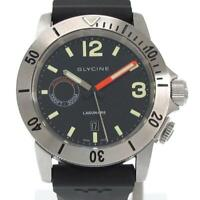 Glycine Lagunare 3899 Automatic Stainless Men's Watch From Japan [b0502]