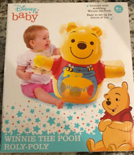 DISNEY BABY WINNIE THE POOH ROLY POLY WOBBLING WINNIE THE POOH NEW!