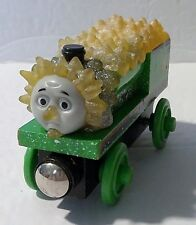 RARE! Thomas and Friends Wooden Railway PERCY JACK FROST Ice Snow Magnetic