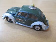 Corgi VW Volkswagen Beetle 1200 European Police Polizei Original Model Steering