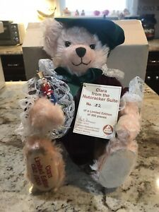 LIMITED TO 500 HERMANN  BEAR  CLARA ~ from the Nutcracker Suite   #82/500  MINT
