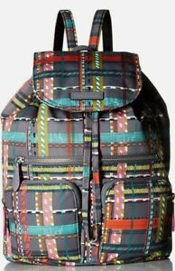 Vera Bradley Midtown Cargo Backpack Pattern: City Plaid