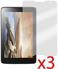 "3x Protector pantalla anti-reflejo Lenovo A8-50 A5500 8"" Hellfire"