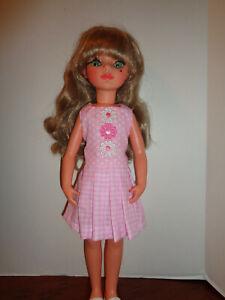 "PRETTY PINK DRESS OUTFIT FOR 17"" ALTA MODA FURGA DOLL"