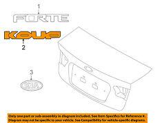 KIA OEM 10-13 Forte Koup Trunk Lid-Emblem Badge Nameplate 863111M310