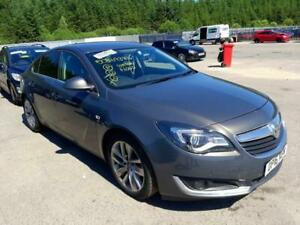 BREAKING VAUXHALL INSIGNIA 2016 IN GREY COLOUR - COLOUR CODE-Z190