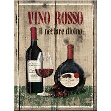 Vino Rosso Red Wine Drink Bistro Cafe Restaurant Kitchen Fridge Magnet Art