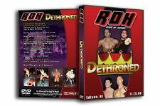 Official Ring Of Honor - Dethroned 2006 DVD