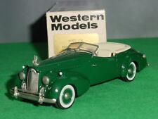 1940 Packard Darrin (open) van Western Models