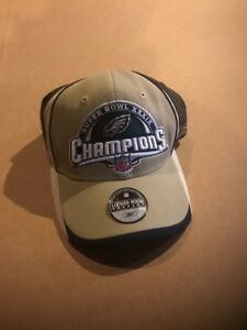 Error Philadelphia Eagles Super Bowl XXXIX Champions Ball Cap Hat NFL Reebok
