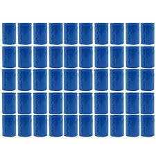 50 PC 4/5 Sub C 1600mAh 1.2V Ni-Cd Wiederaufladbare Batterie Zelle Flat-Top blau