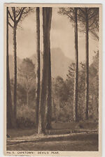 Capetown Devil's Peak South Africa Postcard