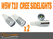 FORD FOCUS ST 225 RS T10 W5W CREE 5W SIDELIGHT BULBS 6000K BRIGHT WHITE UK STOCK