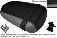 BLACK & GREY CUSTOM FITS SUZUKI 600 750 GSXR 08-10 K8 K9 L0 REAR SEAT COVER