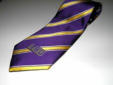 OFFICIALLY LICENSED LSU / UNIVERSITY OF LOUISIANA TIGERS NECKTIE POLYESTER NEW