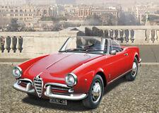 Italeri 1/24 Alfa Romeo Giulietta Spider 1300 Car ITA3653