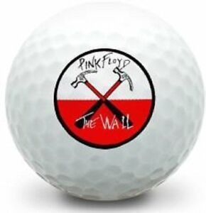 3 Dozen Bridgestone E6 (Pink Floyd The Wall Logo Golf Balls) 36 Pack Gift Set