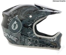 SixSixOne 661 Evolution Distressed Full Face Bicycle Helmet XL Graphite NOS