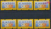 BRD ATM3.2, Satz komplett postfrisch 1999 Automaten-Postwertzeichen (8776946