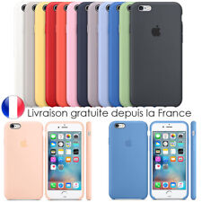 Coque Etui Silicone iPhone Protection 6/6s/7/8/Se/X/XS/ XR/11/Pro Max