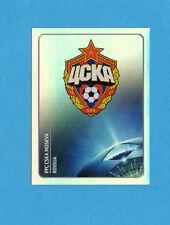 PANINI-CHAMPIONS 2011-2012-Figurina n.90- SCUDETTO/BADGE - CSKA -NEW BLACK