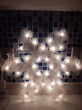 "18"" Snowflake Illumination Lights 35 Lights by Hoferts New in Box"