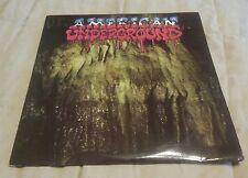 American Underground 3 LP private 1983 NY comp Indie Metal Hard Rock Prog & more