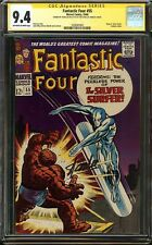 Fantastic Four #55 CGC 9.4 NM SS STAN LEE Thing vs. Silver Surfer KIRBY SINNOTT