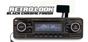 Caliber RCD120DAB-BT/B CD DAB+ USB Bluetooth MP3 Autoradio schwarz + DAB-Antenne