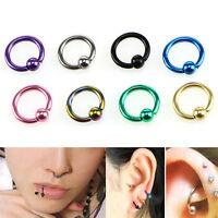 Body Piercing bijoux nez oreilles oreiller bar anneaux