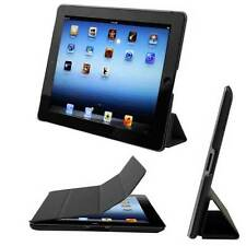 "CUSTODIA Integrale SMART COVER SUPPORTO per Apple iPad 2 3 4 9.7"" Nera"