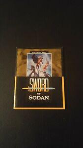 SWORD of Sodan INSTRUCTION Game Book ONLY! SEGA Genesis Vintage Original Manual