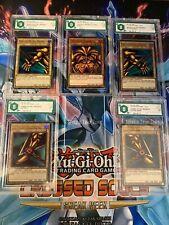 Yu-Gi-Oh! I 5 Pezzi Di Exodia Il Proibito Set Completo Promo Lart Gradato Graad