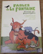 Fables de LA FONTAINE ✤ Benjamin Rabier / Hergé ✤ Tallandier 1995
