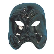 Masque vénitien noir expressif bas de visage non couvert [0054noir] theatre fete