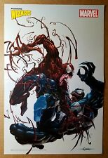 Venom Vs Carnage Amazing Spider-Man Marvel Comics Poster by Clayton Crain