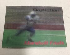 1996 SkyBox SkyMotion MARSHALL FAULK Lenticular Football Card # 16 COLTS