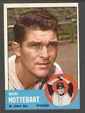 1963 Topps #204 Don Nottebart