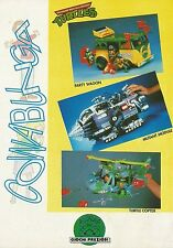 X7209 Turtle Copter - Turtles - Pubblicità 1991 - Advertising