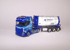 "Herpa PC 121811 ""Ingo Dinges"" Scania CS 20 HD Tankcontainer-Sz 1:87 Showtruck"