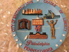Wall Plate, City of Brotherly Love Cradle of Liberty, Philadelphia PA. American